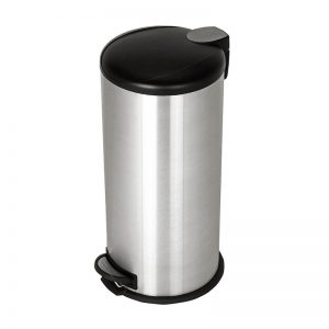 12L Stainless Steel Step Bin J-501