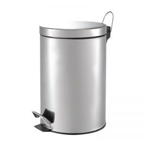 12L Stainless Steel Step Bin