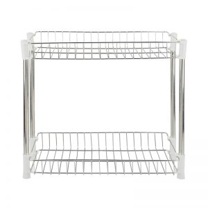 2-Layer Stainless Steel Knock Down Rack