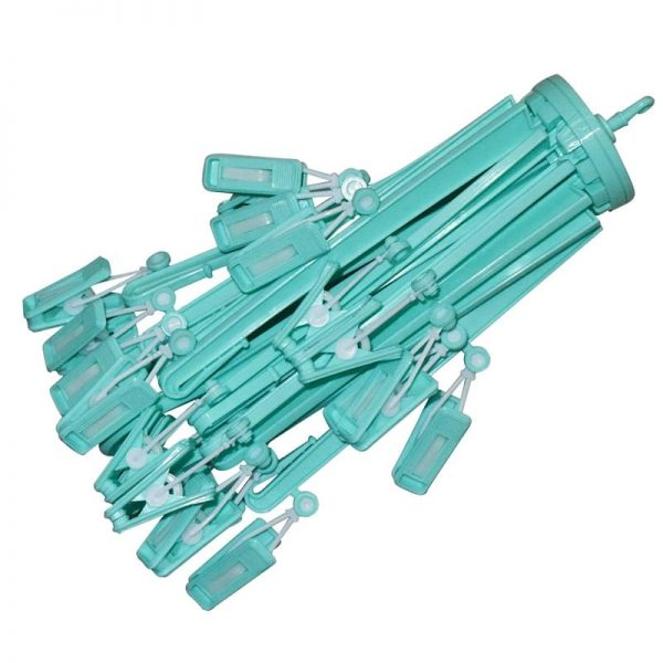 24 Clips Umbrella Hanger - Green