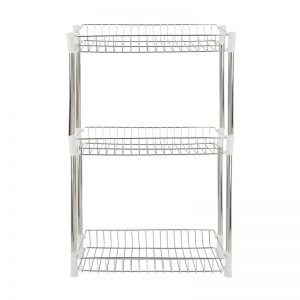 3-Layer Stainless Steel Knock Down Rack