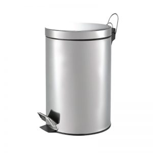 5L Stainless Steel Step Bin