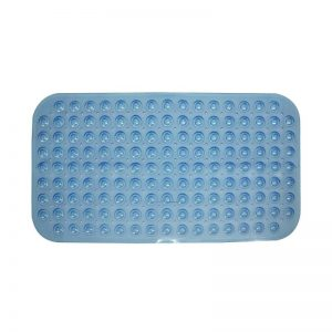70x39cm Rectangular Bath Mat (Blue)