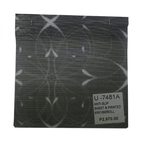 Anti Slip Sheet Printed 65x15mroll U-7481A