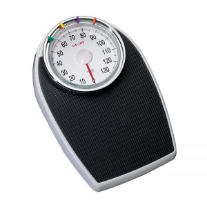 Bathroom Scale Extra Large/heavy Duty-black