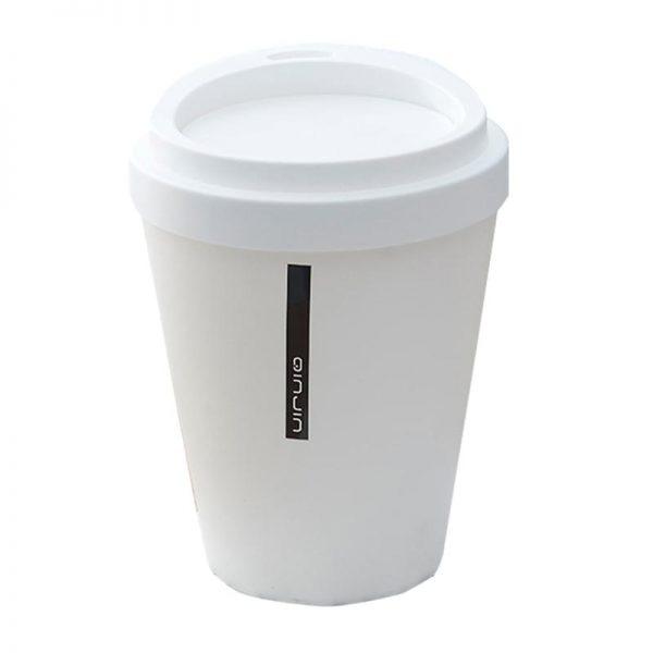 Coffee Cup Dustbin Big-white
