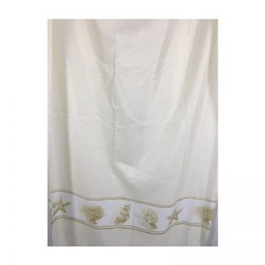 Polyester Shower Curtain Sea Shell