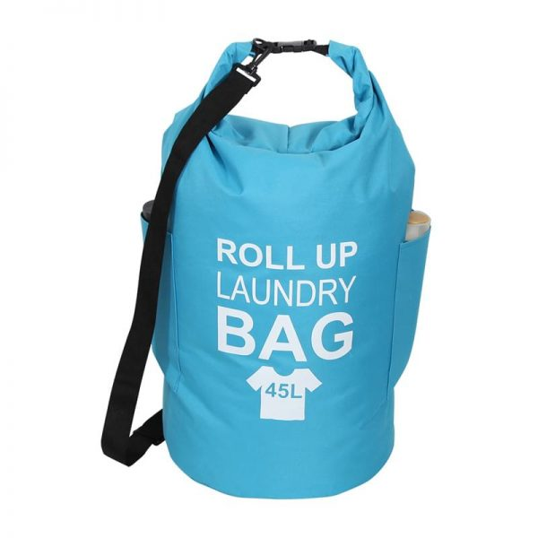 Roll-up Laundry Bag Blue