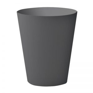 Round Bin Small Gray