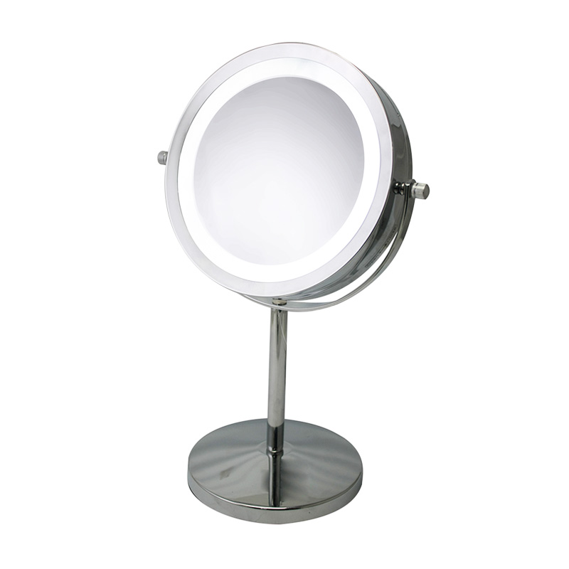 Round Vanity Mirror With Led Light Cascade