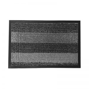 Stripe Doormat - Black
