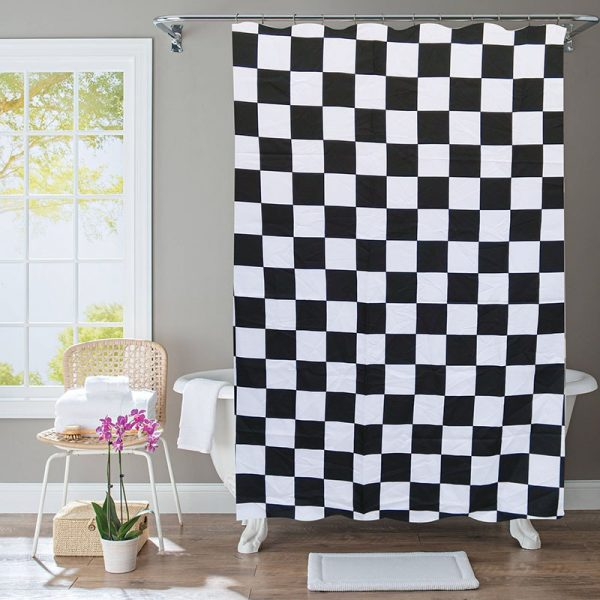 Polyester Shower Curtain Squares