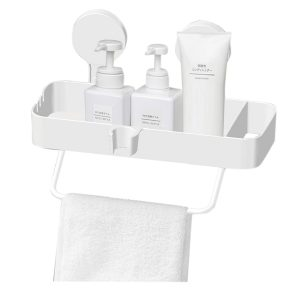 Bathroom Organizer with Suction