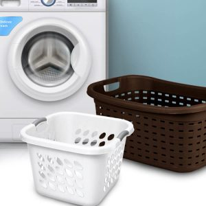 Sterilite Storage and Laundry Baskets, Trays, and Crates