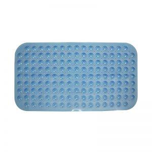 70x39cm Rectangular Bath Mat (Blue)
