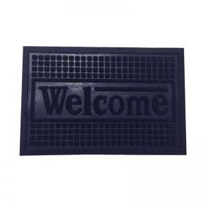 Blocks Doormat - Blue