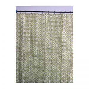 Polyester Shower Curtain Light Square