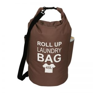Roll-up Laundry Bag Brown