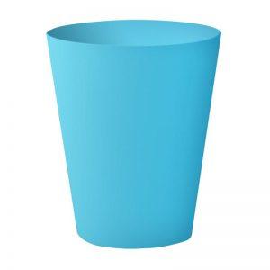 Round Bin Small Blue