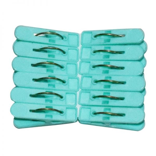Small Clip 12 Pcs-set (Green)