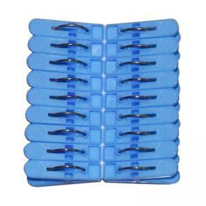 Small Clip 18 Pcs-set (Blue)