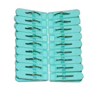 Small Clip 18 Pcs-set (Green)