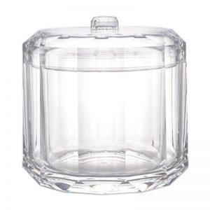 Storage W/lid (Cotton Swabs)