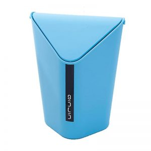Triangle Bin with Swing Lid Small-Blue